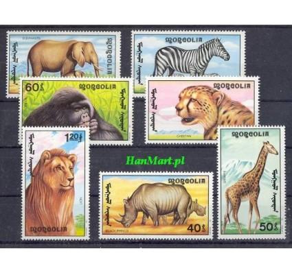 Znaczek Mongolia 1991 Mi 2293-2299 Czyste **