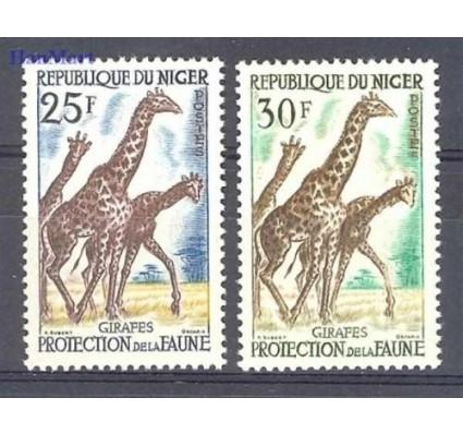Znaczek Niger 1959 Mi 7-8 Czyste **