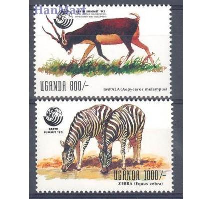 Znaczek Uganda 1992 Mi 1187-1188 Czyste **