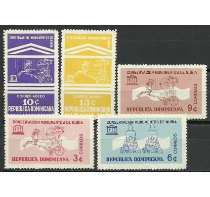 Znaczek Dominikana 1964 Mi 818-822 Czyste **