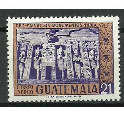 Znaczek Gwatemala 1965 Mi 758 Z podlepką *