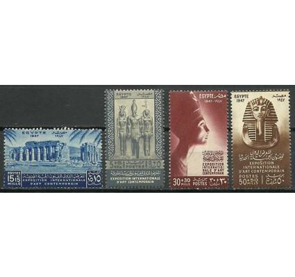 Znaczek Egipt 1947 Mi 301-304 Czyste **