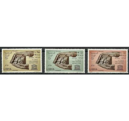 Znaczek Libia 1966 Mi 205-207 Z podlepką *