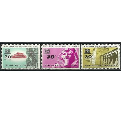 Znaczek Togo 1964 Mi 419-421 Czyste **