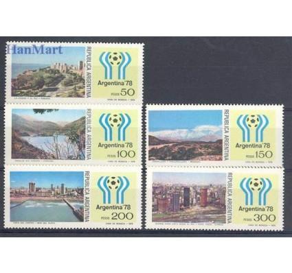 Znaczek Argentyna 1978 Mi 1326-1330 Czyste **
