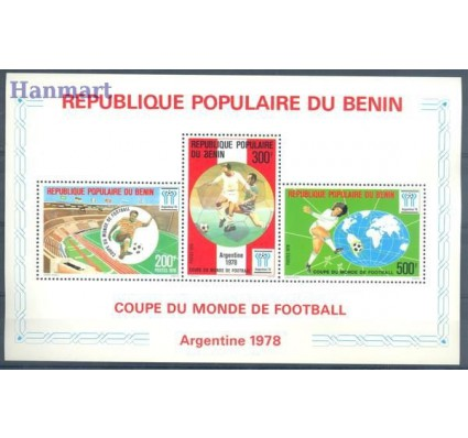 Znaczek Benin 1978 Mi bl 4 Czyste **