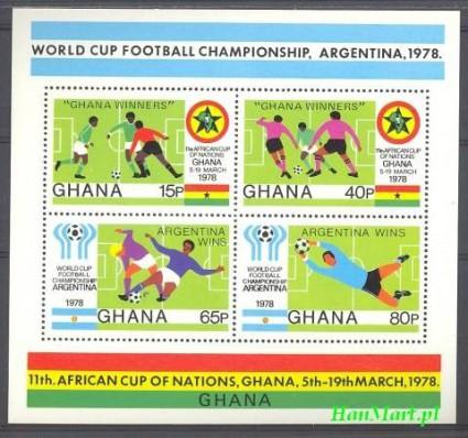 Znaczek Ghana 1978 Mi bl 76 Czyste **
