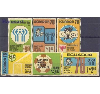 Znaczek Ekwador 1978 Mi 1782-1787 Czyste **