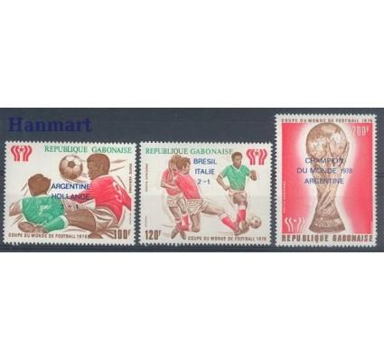 Znaczek Gabon 1978 Mi 670-672 Czyste **