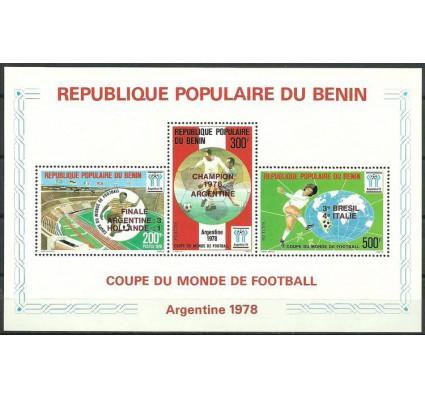 Znaczek Benin 1978 Mi bl 5 Czyste **