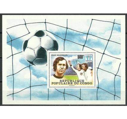 Znaczek Kongo 1978 Mi bl 15 Czyste **