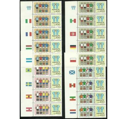 Znaczek Argentyna 1978 Mi 1340-1343 Czyste **