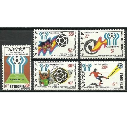 Znaczek Etiopia 1978 Mi 970-974 Czyste **