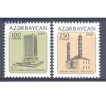 Znaczek Azerbejdżan 2002 Mi 516-517 Czyste **