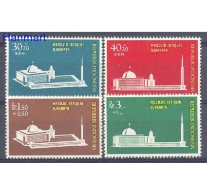 Znaczek Indonezja 1962 Mi 329-332 Czyste **