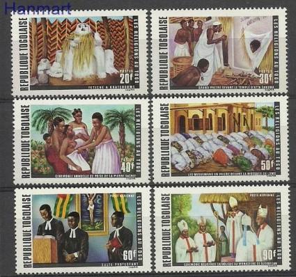 Znaczek Togo 1971 Mi 878-883 Czyste **