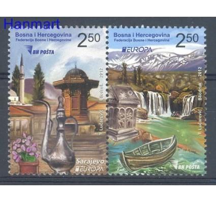 Znaczek Bośnia i Hercegowina 2012 Mi 589-590 Czyste **