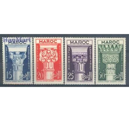 Znaczek Maroko 1952 Mi 344-347 Czyste **
