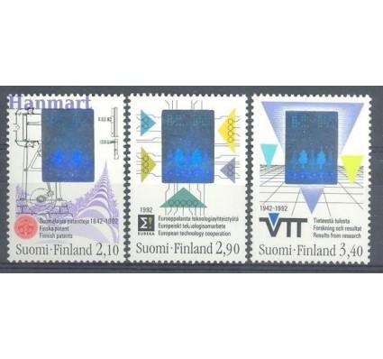 Znaczek Finlandia 1992 Mi 1175-1177 Czyste **