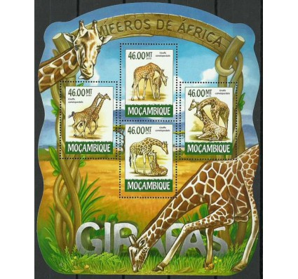 Znaczek Mozambik 2015 Mi ark 7959-7962 Czyste **