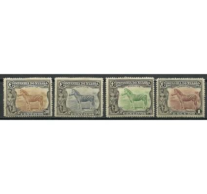 Znaczek Mozambik 1921 Mi 109-112 Z podlepką *