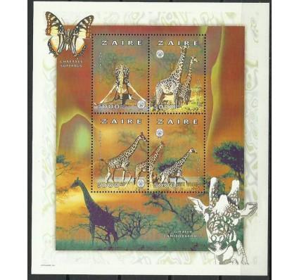 Znaczek Kongo Kinszasa / Zair 1997 Mi ark 1314-1317 Czyste **