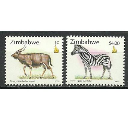Znaczek Zimbabwe 2000 Mi 644+655 Czyste **