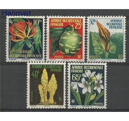 Znaczek Francuska Afryka Zachodnia 1958 Mi 95-99 Czyste **