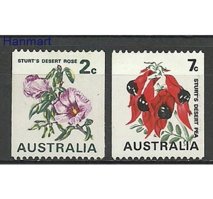 Znaczek Australia 1971 Mi 476-477 Czyste **