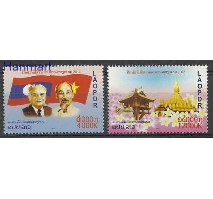 Znaczek Laos 2012 Mi 2226-2227 Czyste **