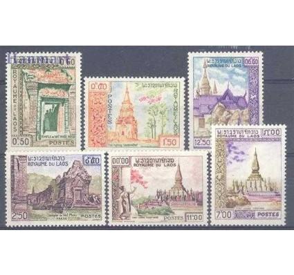 Znaczek Laos 1959 Mi 97-102 Czyste **