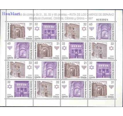 Znaczek Hiszpania 1997 Mi ark 3361-3364 Czyste **