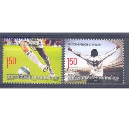 Znaczek Republika Serbska 2010 Mi 495-496 Czyste **