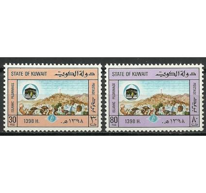 Znaczek Kuwejt 1978 Mi 806-807 Czyste **