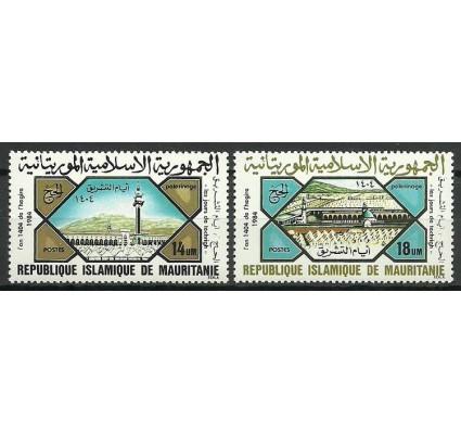 Znaczek Mauretania 1984 Mi 832-833 Czyste **