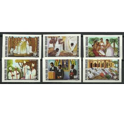 Znaczek Togo 1971 Mi 878-883B Czyste **