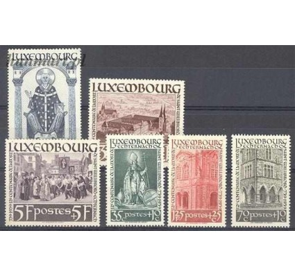 Luksemburg 1938 Mi 309-314 Z podlepką *