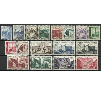 Znaczek Tunezja 1956 Mi 443-458 Czyste **