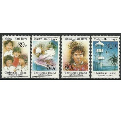 Znaczek Wyspa Bożego Narodzenia 1989 Mi 278-281 Czyste **