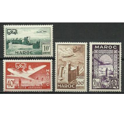 Znaczek Maroko 1952 Mi 348-351 Czyste **