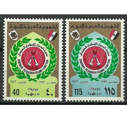 Znaczek Libia 1976 Mi 506-507 Czyste **