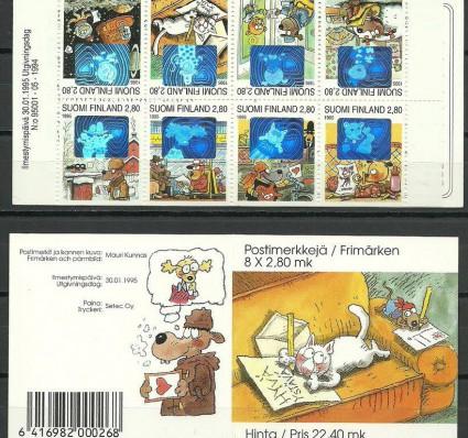 Znaczek Finlandia 1995 Mi mh 38 Czyste **