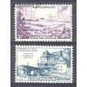 Luksemburg 1953 Mi 512-513 Z podlepką *