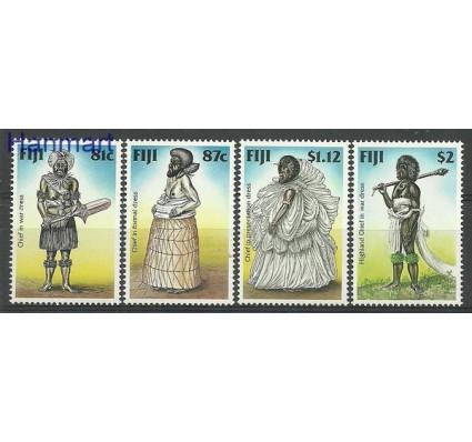 Znaczek Fidżi 1998 Mi 831-834 Czyste **