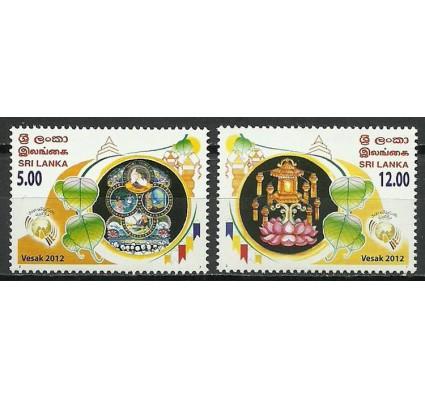Znaczek Sri Lanka 2012 Mi 1895-1896 Czyste **