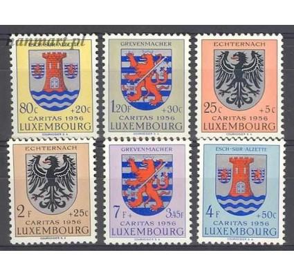 Luksemburg 1956 Mi 561-566 Z podlepką *
