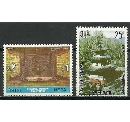 Znaczek Nepal 1974 Mi 309-310 Czyste **
