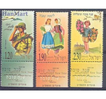 Znaczek Izrael 2001 Mi 1637-1639 Czyste **