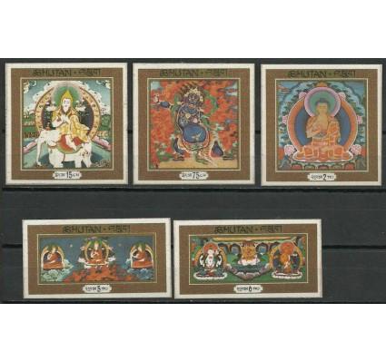 Znaczek Bhutan 1969 Mi 305-309 Czyste **