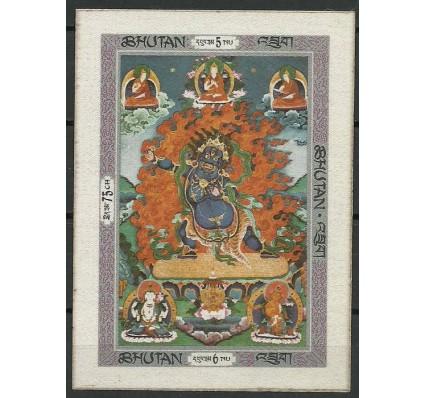 Znaczek Bhutan 1969 Mi bl 31B Z podlepką *